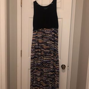 Scoop neck Maxi Dress - Size 1X